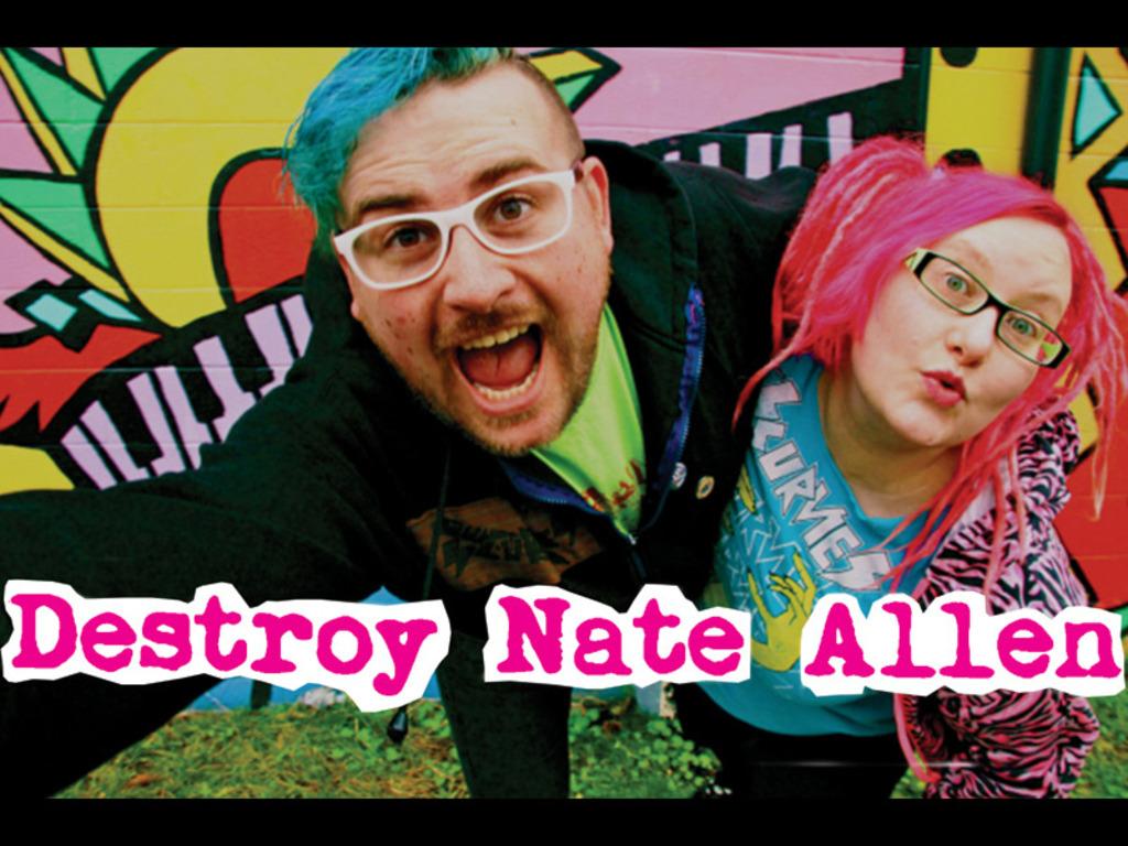 Destroy Nate Allen's Epic Album Adventure!'s video poster