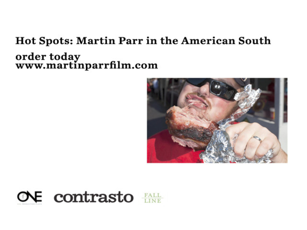 Hot Spots: Martin Parr in the American South's video poster