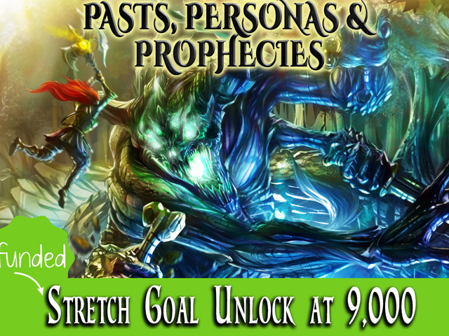 PASTS, PERSONAS & PROPHECIES- Roleplaying Game