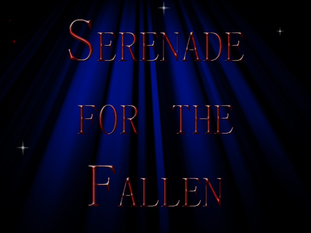 Serenade for the Fallen's video poster