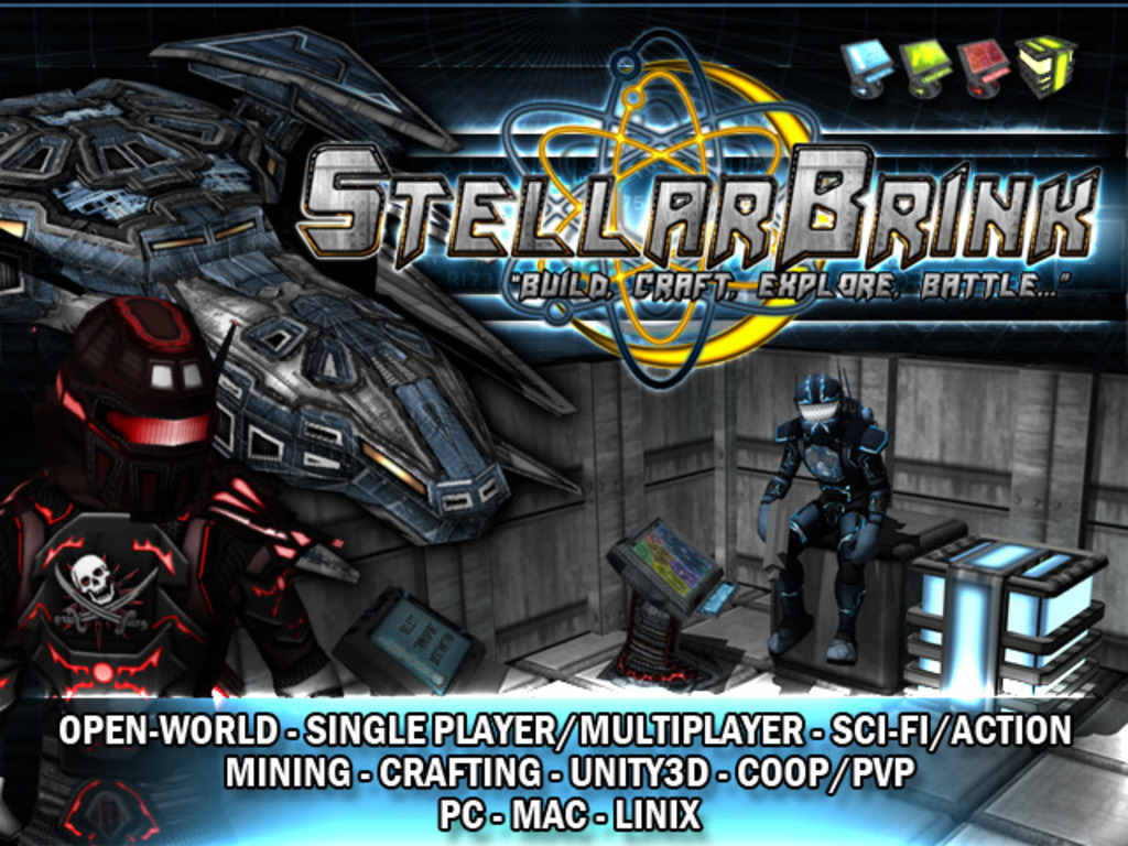 StellarBrink - Open-World, RPG, Mining, Crafting, Space Game's video poster