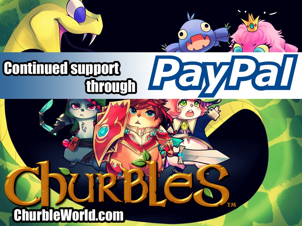 Churbles - Adorably Tough RPG - Wii U, PS4, XBO, PC, Mac's video poster