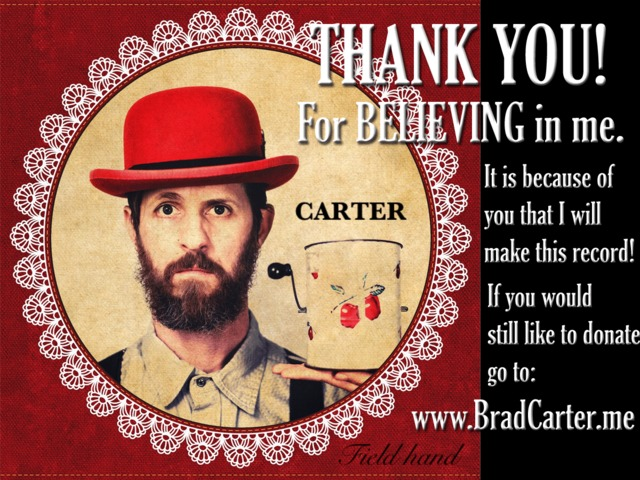 Brad Carter Records First Album After Live Brain Surgery