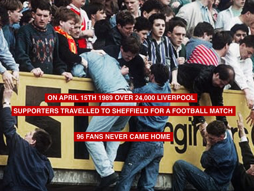 SATURDAY – short film about the Hillsborough disaster's video poster