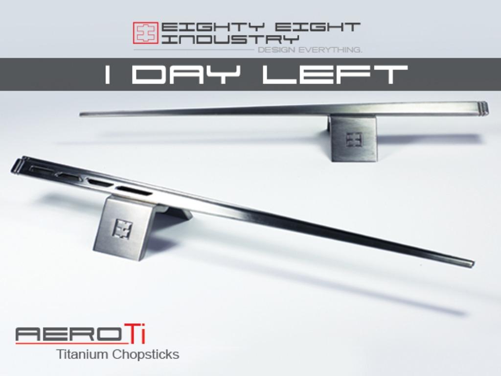 Aerodynamic Inspired Titanium Chopsticks's video poster