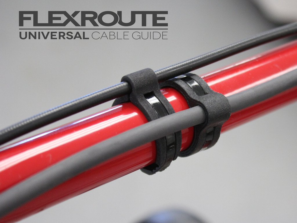 FLEXROUTE   The universal cable guide's video poster