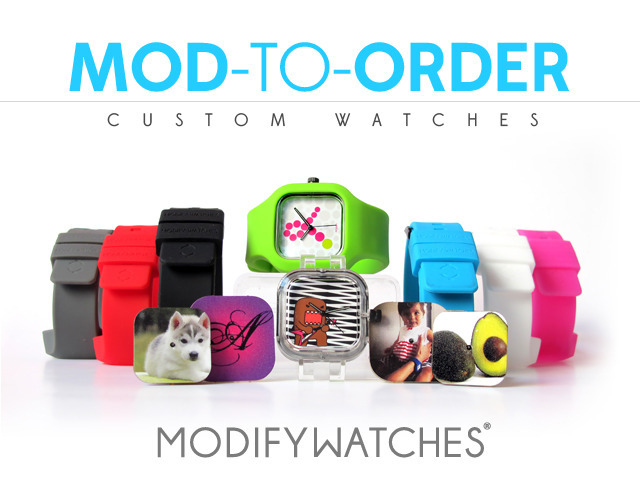 Mod to Order design your own custom Modify Watches by Modify Watches Kickstarter