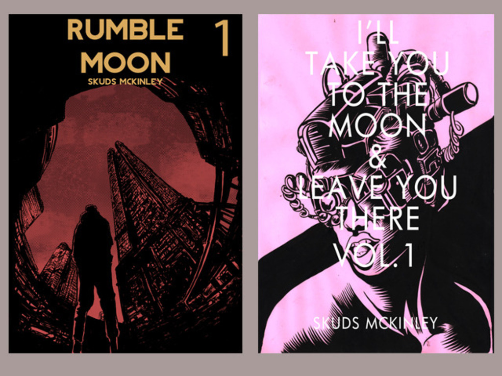 Rumble Moon 1 + I'll take you to the moon Vol.1 Reprint!'s video poster
