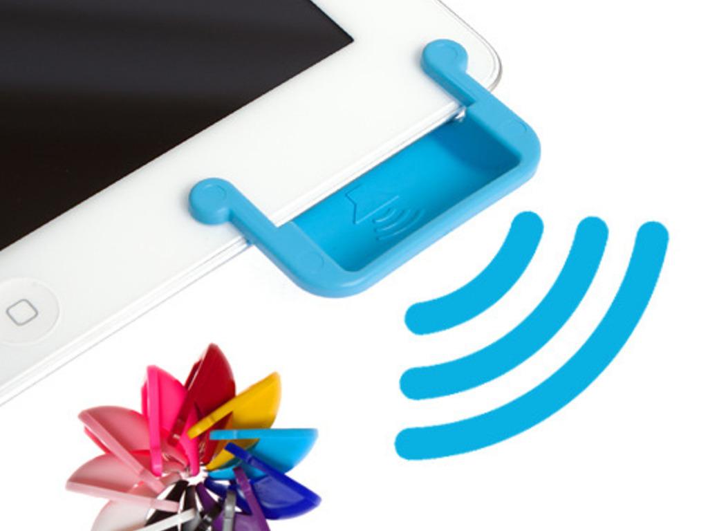 SoundBender: Power-free Magnetic Sound Enhancer for iPad 2's video poster