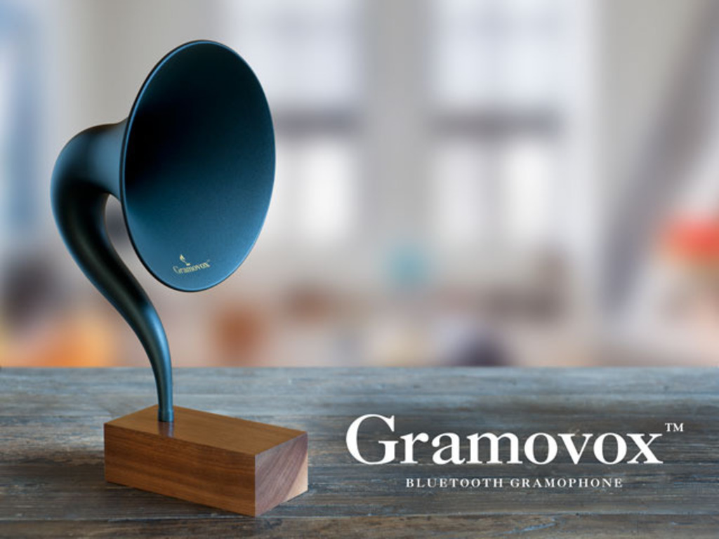 Gramovox™ Bluetooth Gramophone's video poster
