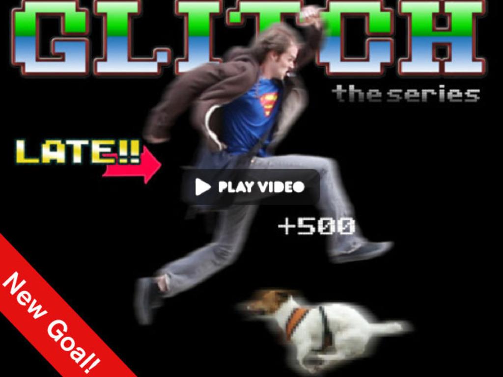 Glitch's video poster