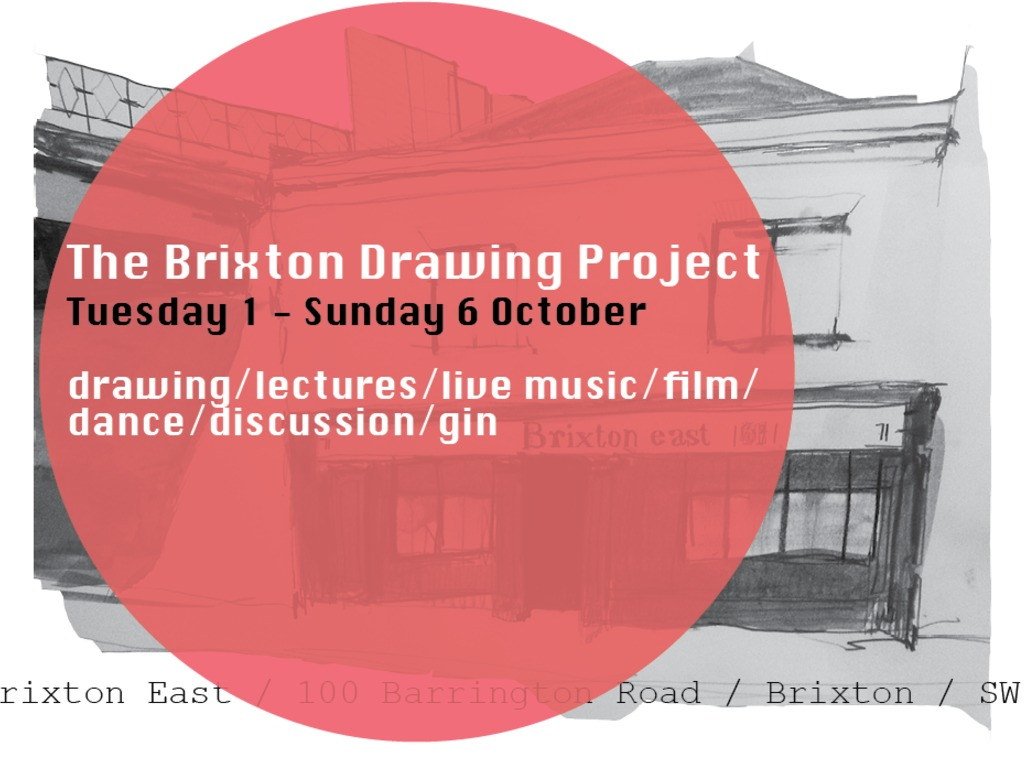 The Brixton Drawing Project's video poster