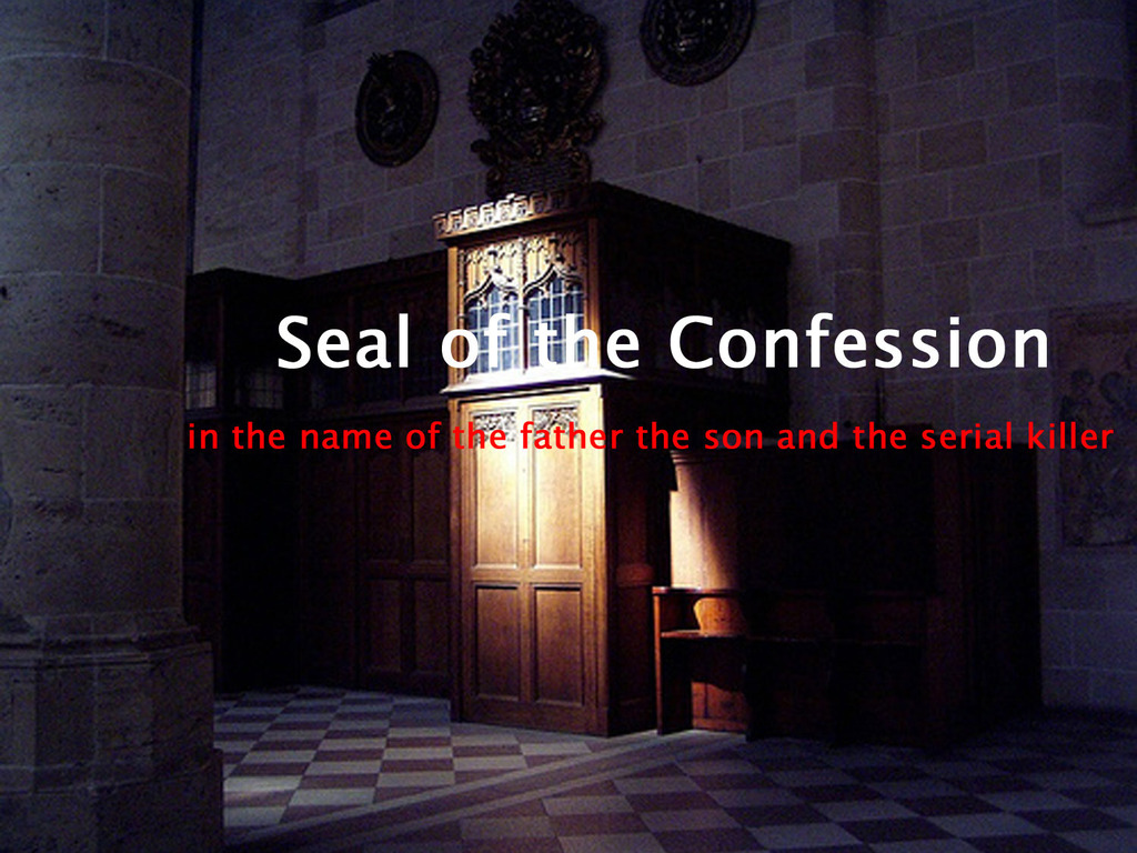 Seal of the Confession's video poster
