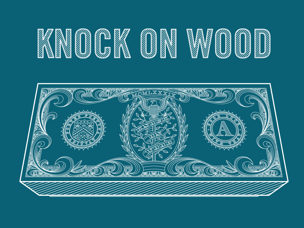 KNOCK ON WOOD // GOOD LUCK WITH THAT (Canceled)'s video poster