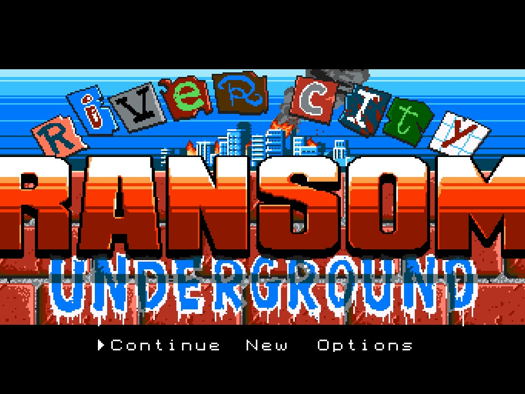 River City Ransom: Underground's video poster