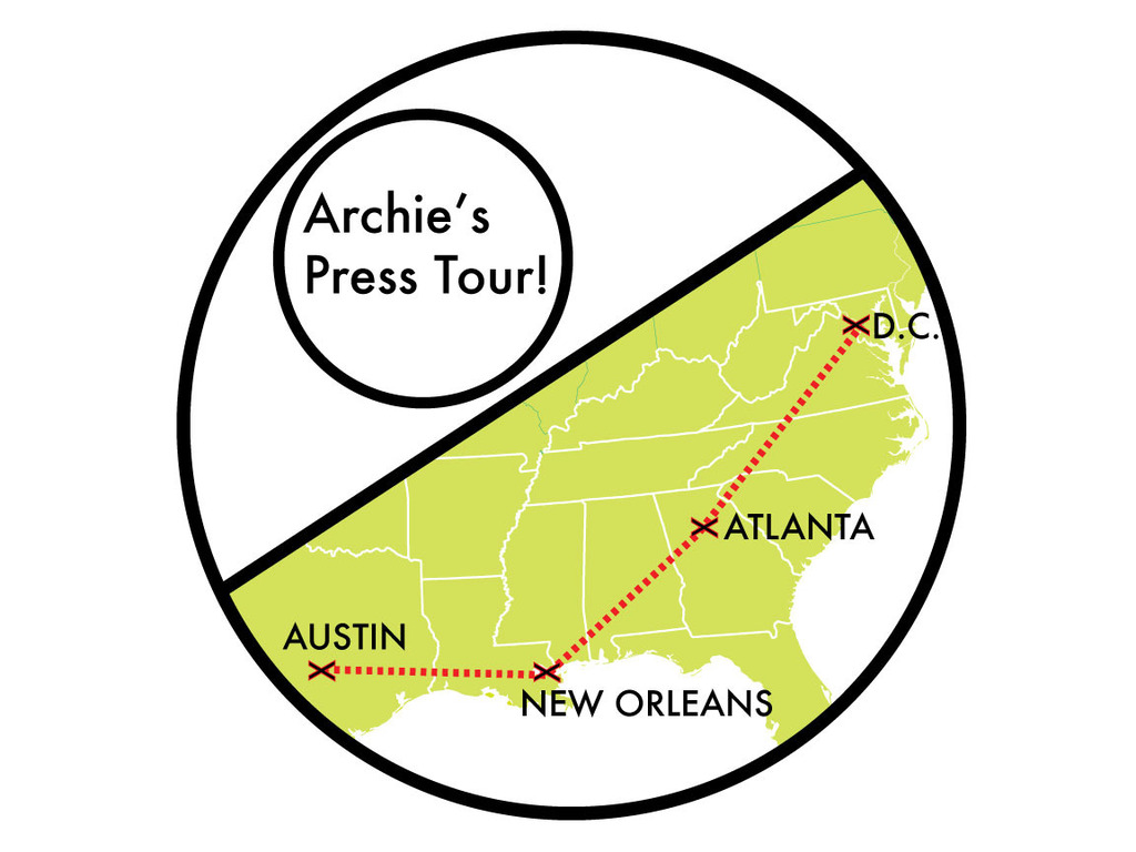 Archie's Press Mapping Tour!'s video poster