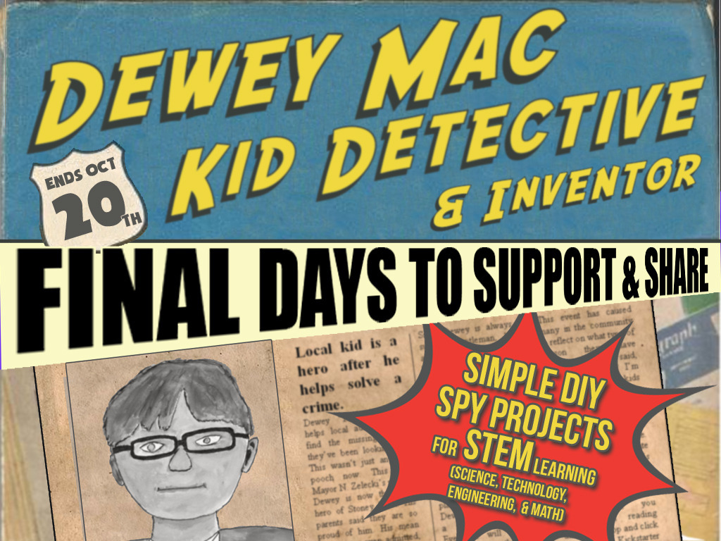 Dewey Mac, Kid Detective Book - Make DIY & STEM Spy Gadgets's video poster