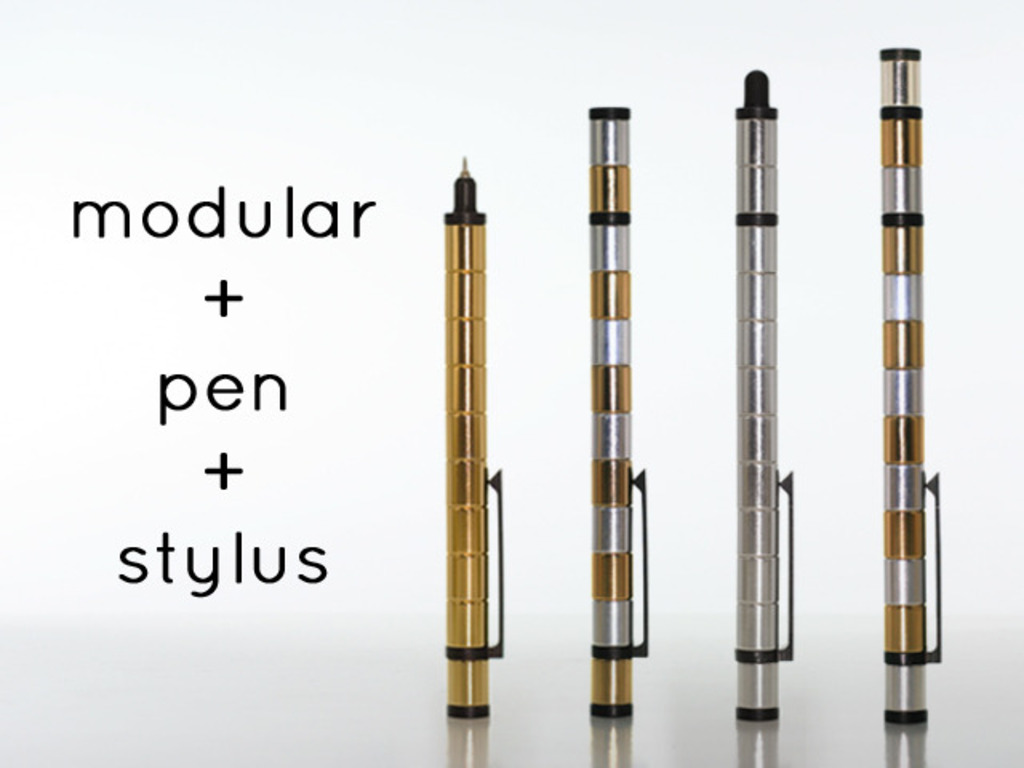 Pen/stylus made from MAGNETS. POLAR PEN - Modular Tool's video poster