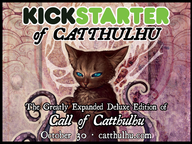 CALL OF CATTHULHU -- DeLUXE!