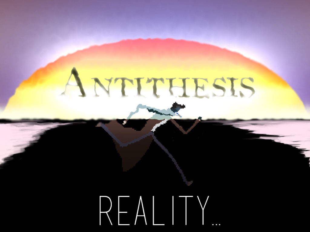 Antithesis, Reality... A conceptual exploration in noir's video poster