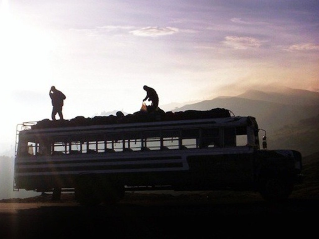 LA CAMIONETA: The Journey of One American School Bus's video poster