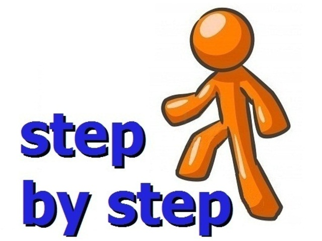 step by step animated