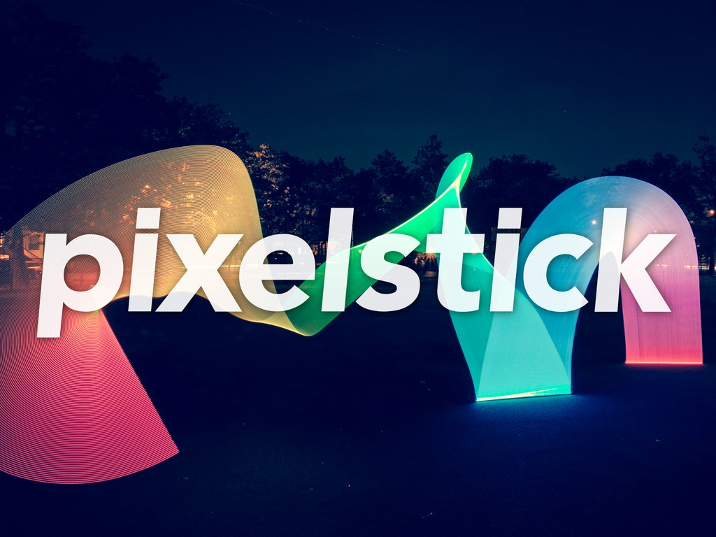pixelstick - Light painting evolved.'s video poster