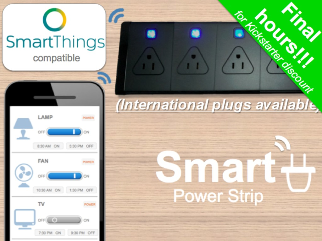 Smart Power Strip- Control your appliances from anywhere's video poster