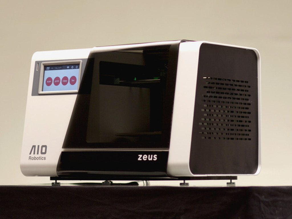 ZEUS: The World's First ALL-IN-ONE 3D Printer / Copy Machine's video poster
