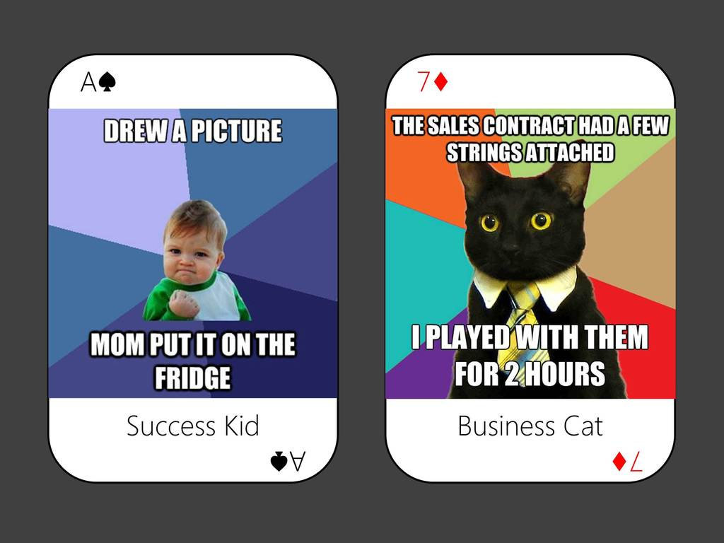 Internet Meme Playing Cards's video poster