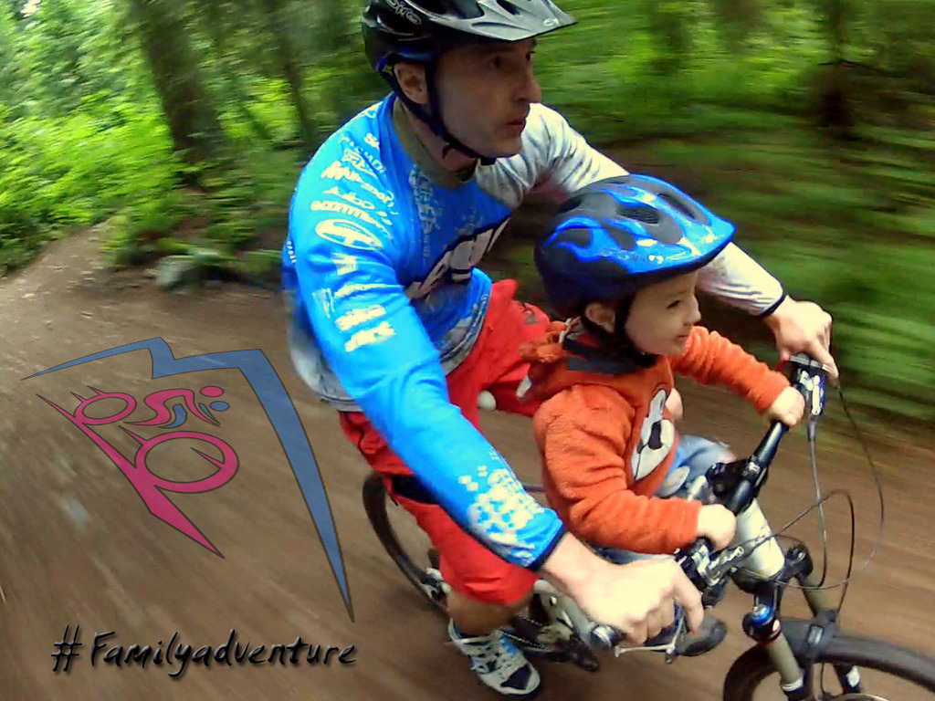 Mac Ride - A Unique Child's Bike Seat for Riding Off-Road's video poster