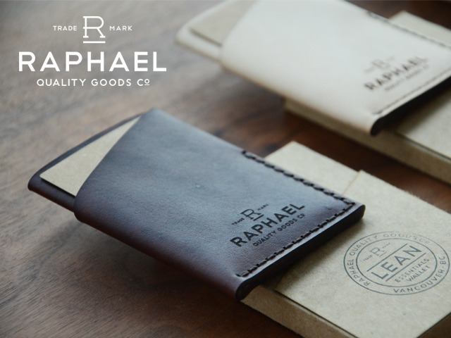 The Lean Essentials Wallet From Raphael Quality Goods Co