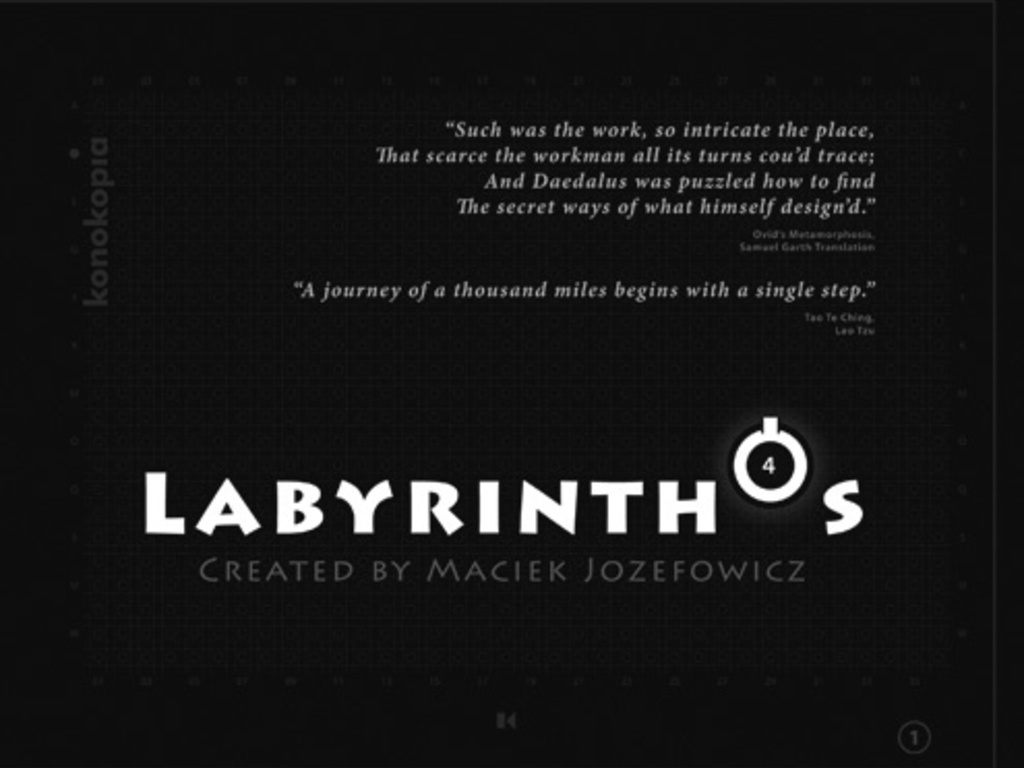 LABYRINTHÓS, Puzzle, Board Game, Art, Literature, read on...'s video poster