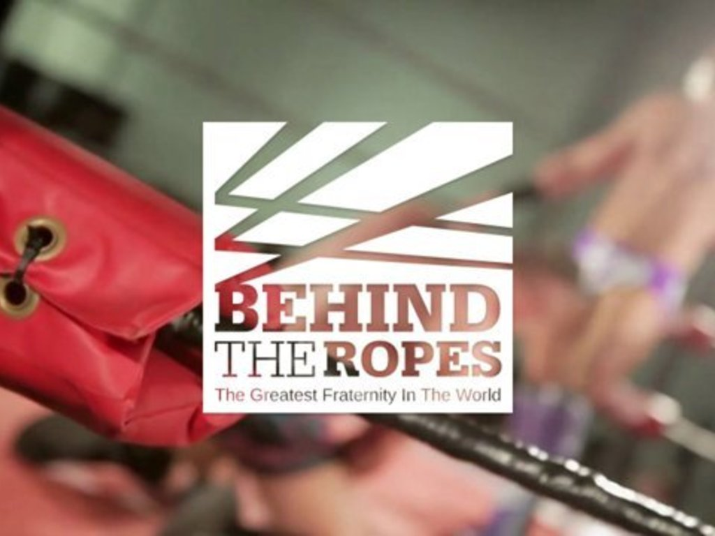 Pro-Wresting Documentary 'Behind the Ropes''s video poster