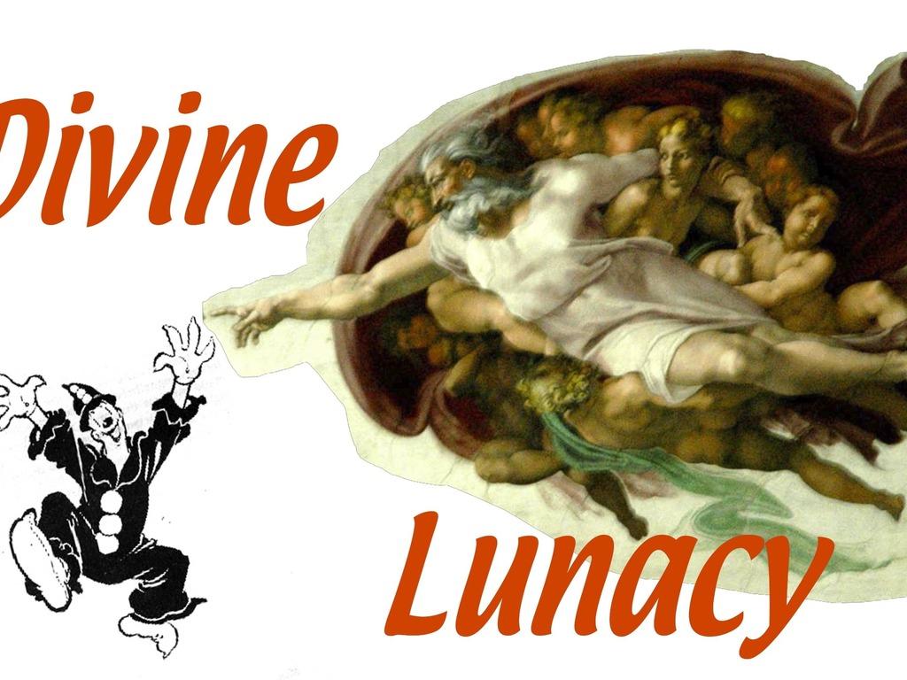 Divine Lunacy, a new musical. At Theatre Convivio, Nov. 2013's video poster