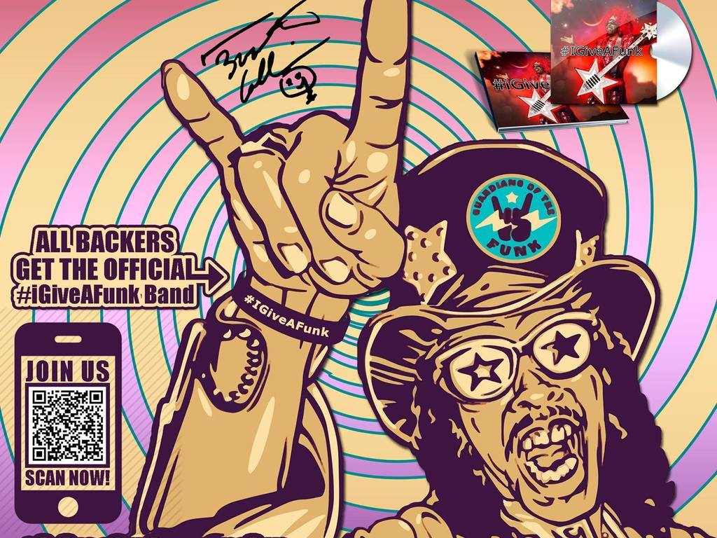 Bootsy Collins to bring Unity to commUnity with #iGiveAFunk's video poster