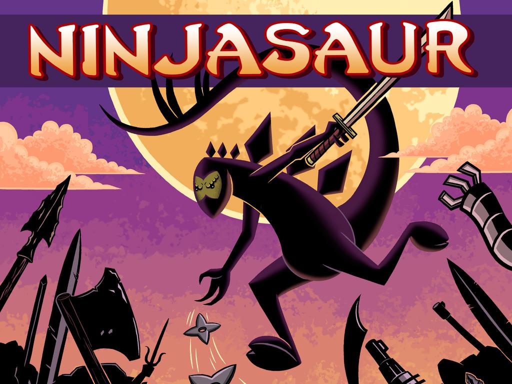 Ninjasaur: Volume One's video poster