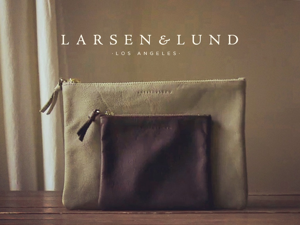 Larsen & Lund: elegant, upcycled leather bags & accessories.'s video poster