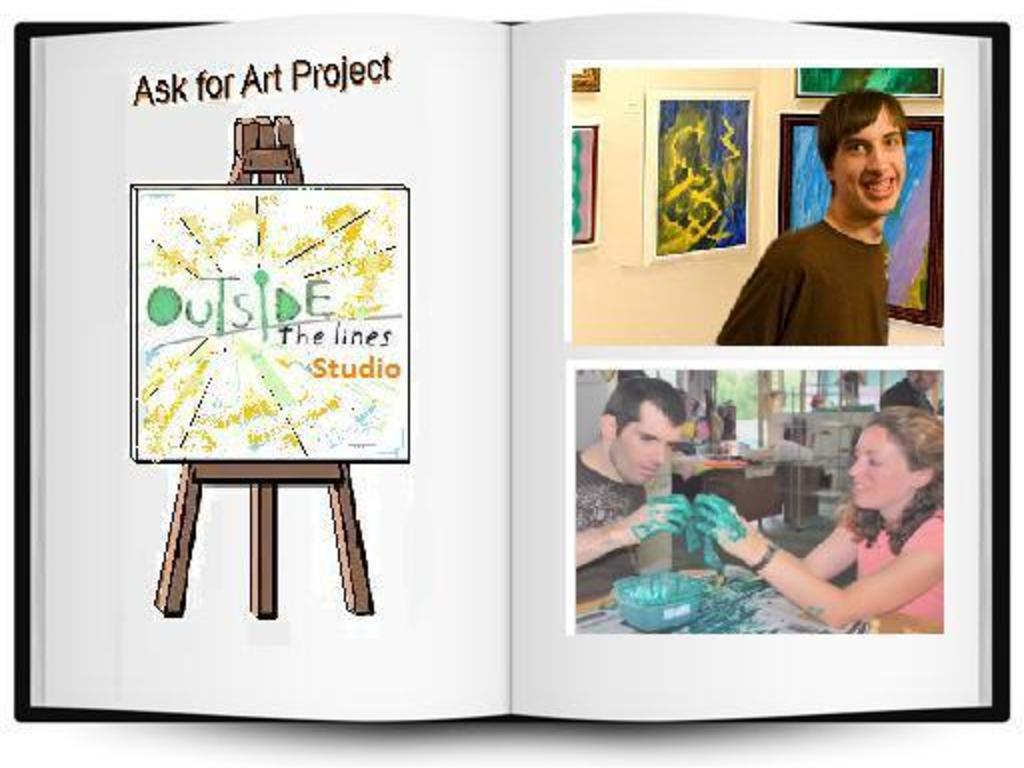 ASK4Art: Art Book for people with Developmental Disabilities's video poster