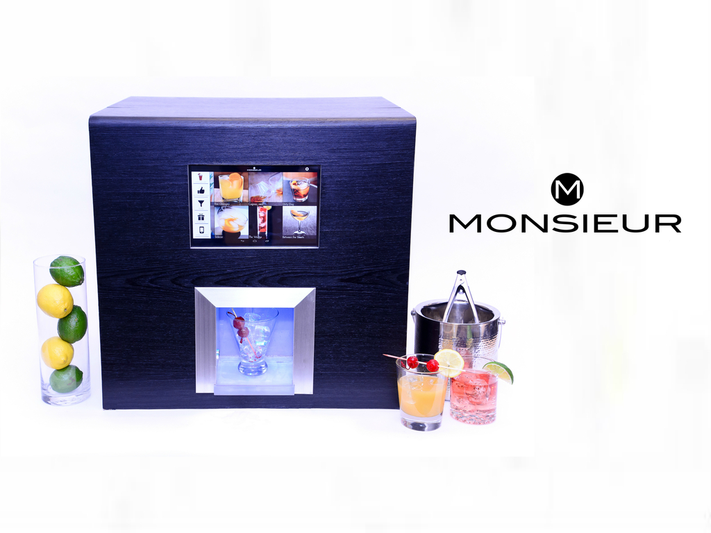 Monsieur. The Artificially Intelligent Robotic Bartender.'s video poster