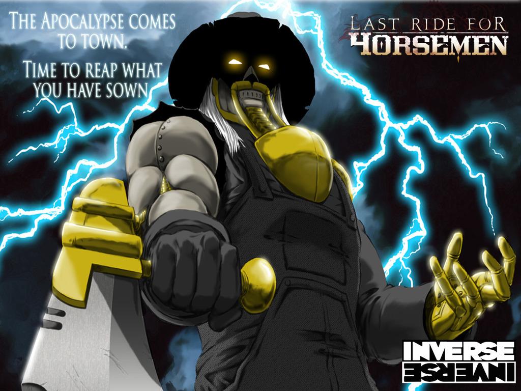 Last Ride for Horsemen: Wild West Steampunk Apocalypse!'s video poster