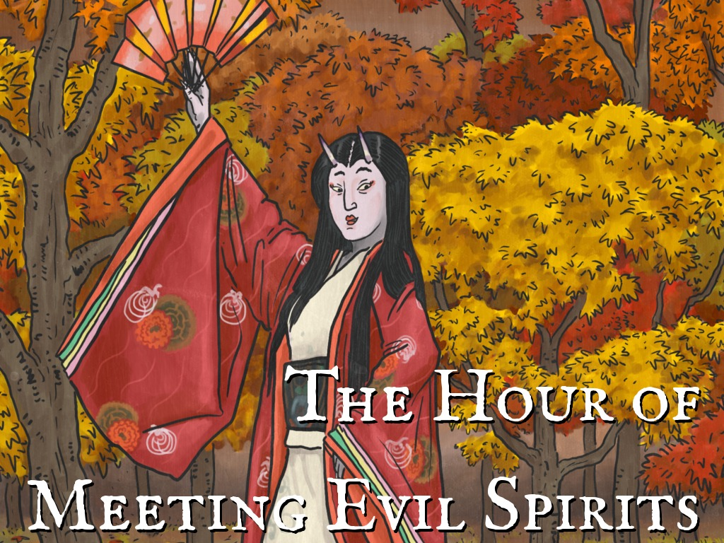 The Hour of Meeting Evil Spirits's video poster