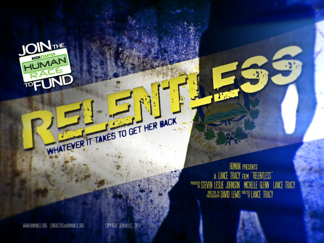 "The Human Race presents ""RELENTLESS"" - A Feature Film's video poster"
