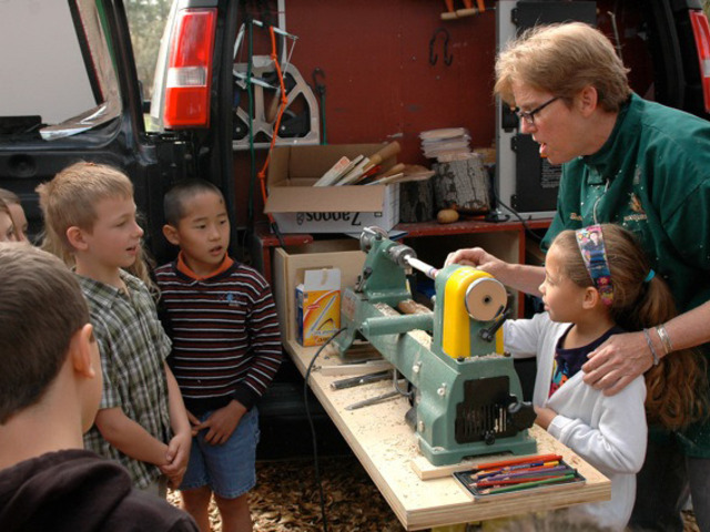 Turning Around Boston: Mobile Woodworking Classes for Kids by The Eliot School of Fine & Applied ...