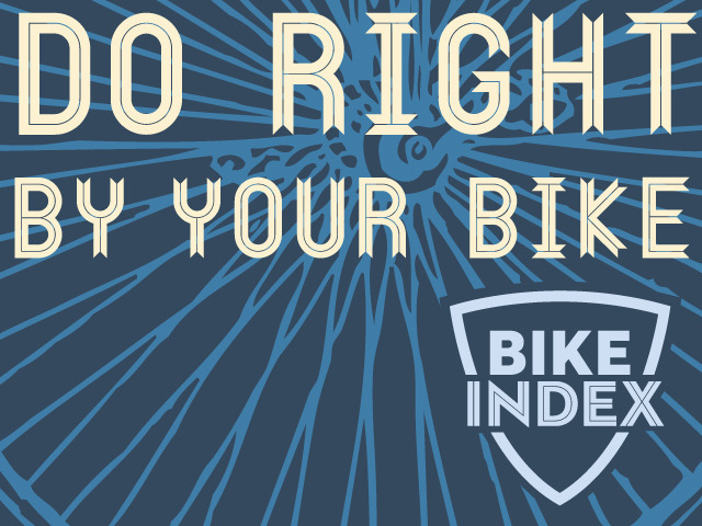 The Bike Index: Let's Stop Bike Theft, Together