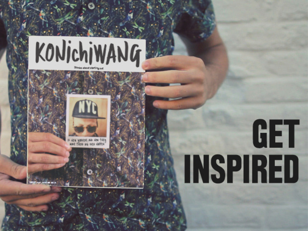 Konichiwang Magazine: Stories about Starting Your Own Thing's video poster