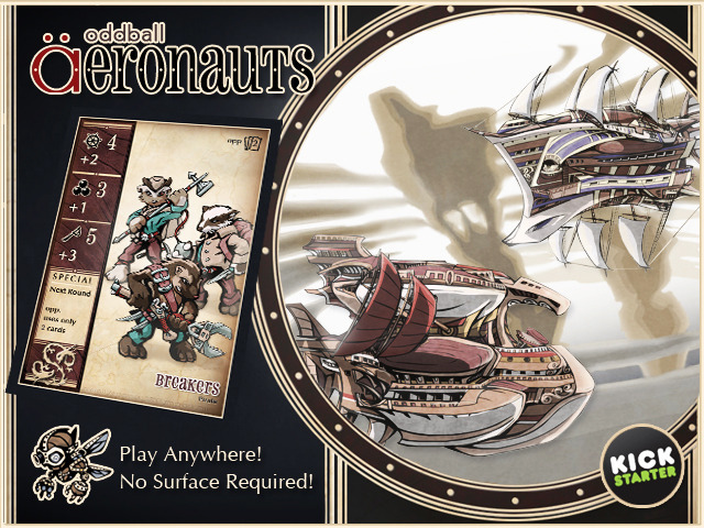 oddball Aeronauts: Pirates vs. The Pendragon