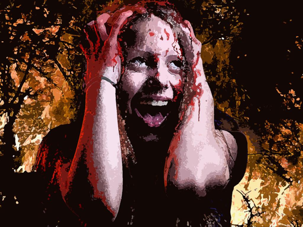 KALI-Destroyer of Worlds: a dystopian scifi/horror novel's video poster