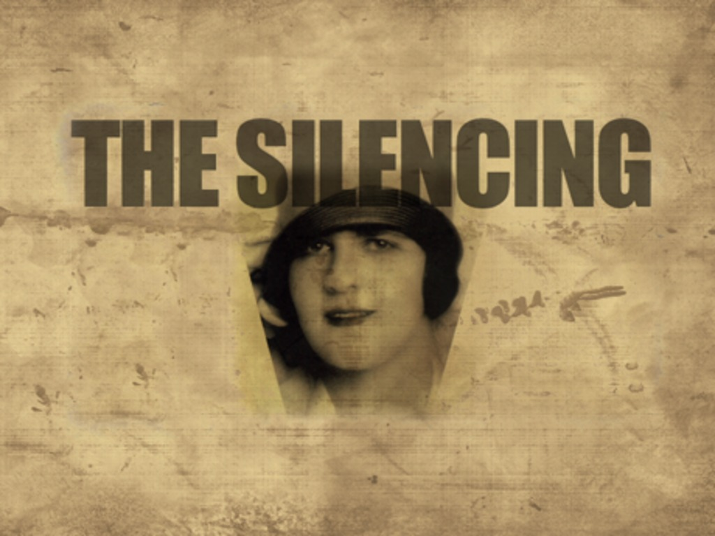 The Silencing of Dorothy Thompson's video poster