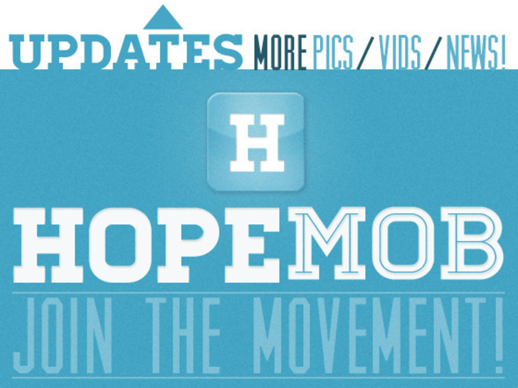 HopeMob: What Happens When Generous Strangers UNITE!'s video poster